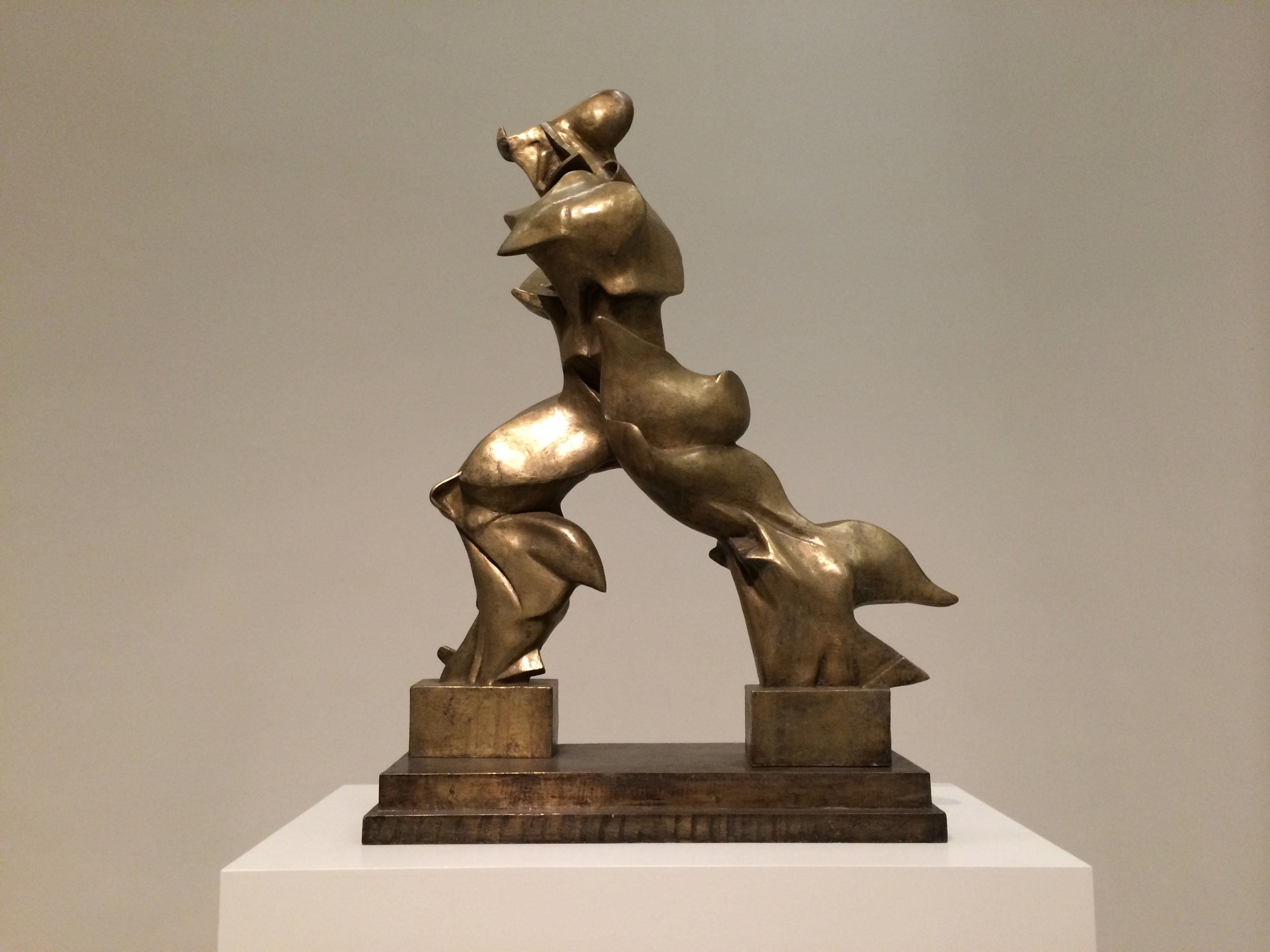 Umberto Boccioni Unique Forms of Continuity in Space, 1913, Bronze